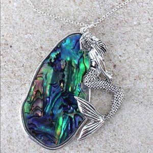 Jewelry - Abalone Mermaid Necklace